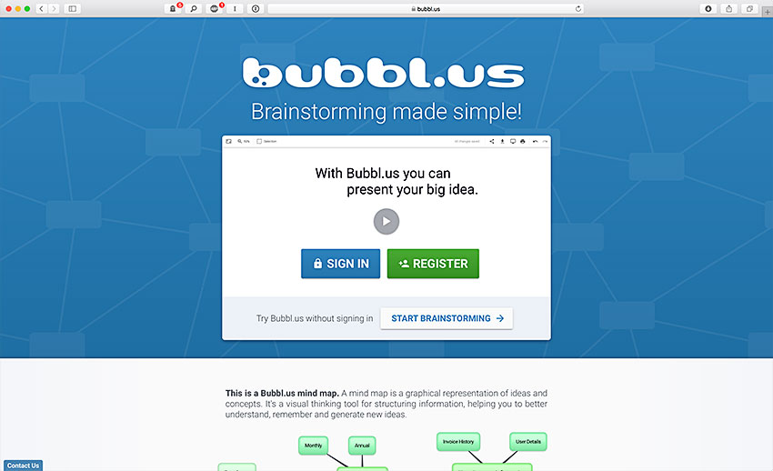 Bubbl.us (Web)