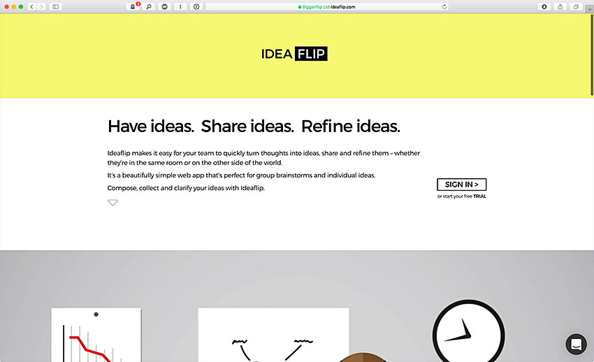 IdeaFlip (Web)