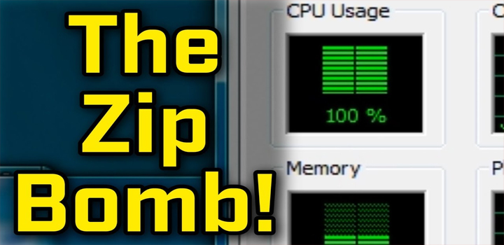 The Most Nasty 'Zip Bomb' Which Can Explode A 46MB File To 4.5 PetaBytes