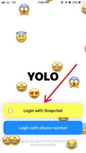 Yolo Snapchat: Solution To Send Anonymous Message On Snapchat 2
