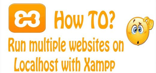 How to configure XAMPP to run multiple WordPress websites in Windows 7/8/10 2
