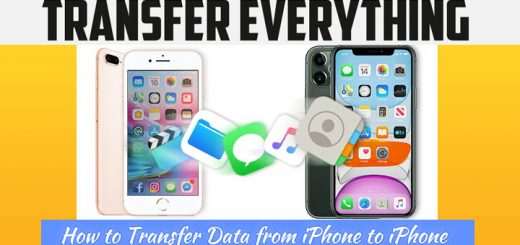 6 Ways How To Transfer Contacts/Data From Old iPhone To New iPhone 11 Without iCloud/iTunes [Best Practices] 5